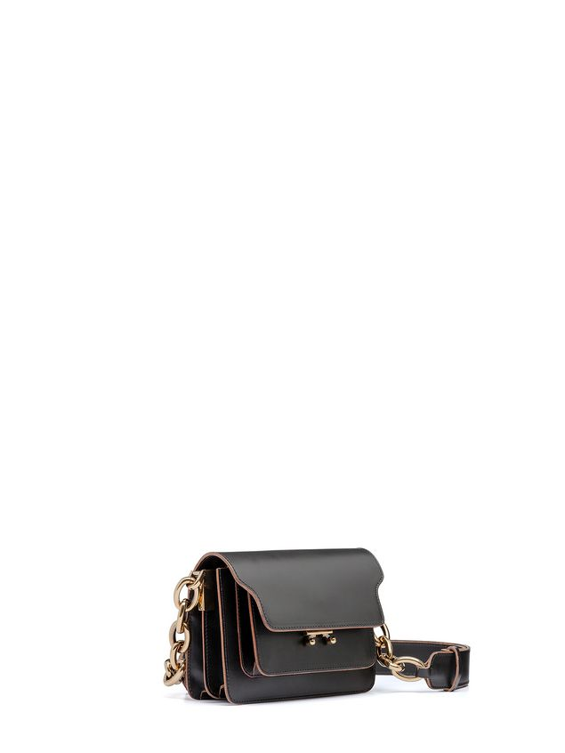 Marni MINI TRUNK bag in calfskin with chain Woman - 2