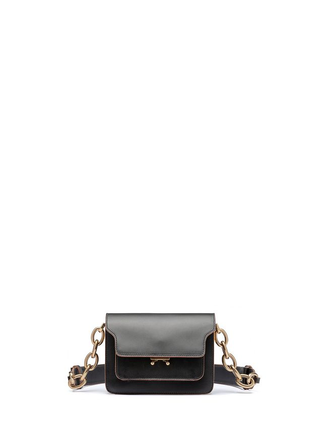 Marni MINI TRUNK bag in calfskin with chain Woman - 1