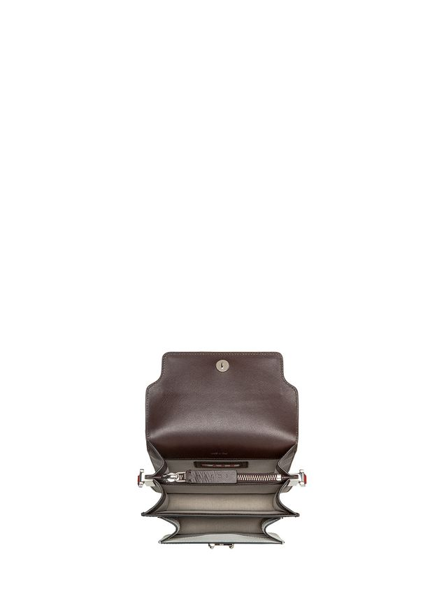 Marni MINI TRUNK bag in calfskin leather Woman - 4