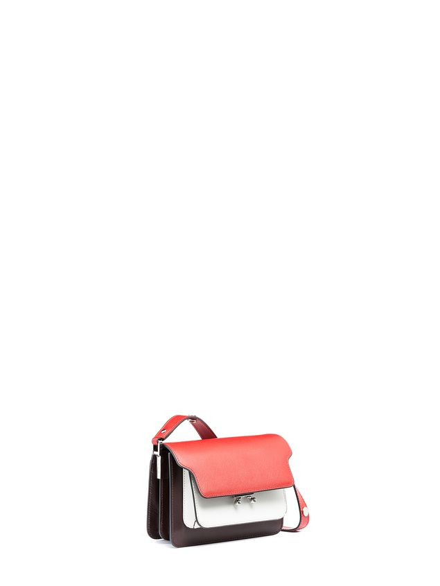 Marni MINI TRUNK bag in calfskin leather Woman - 2