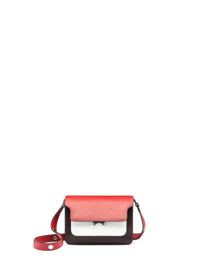 Marni MINI TRUNK bag in calfskin leather Woman - 1