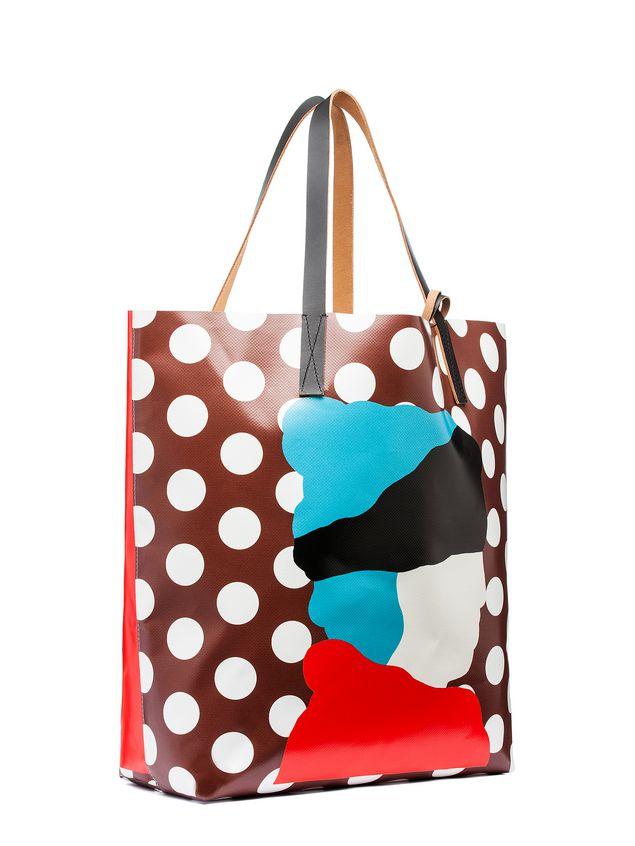 Marni SHOPPING bag in PVC with print by Ekta Woman - 2
