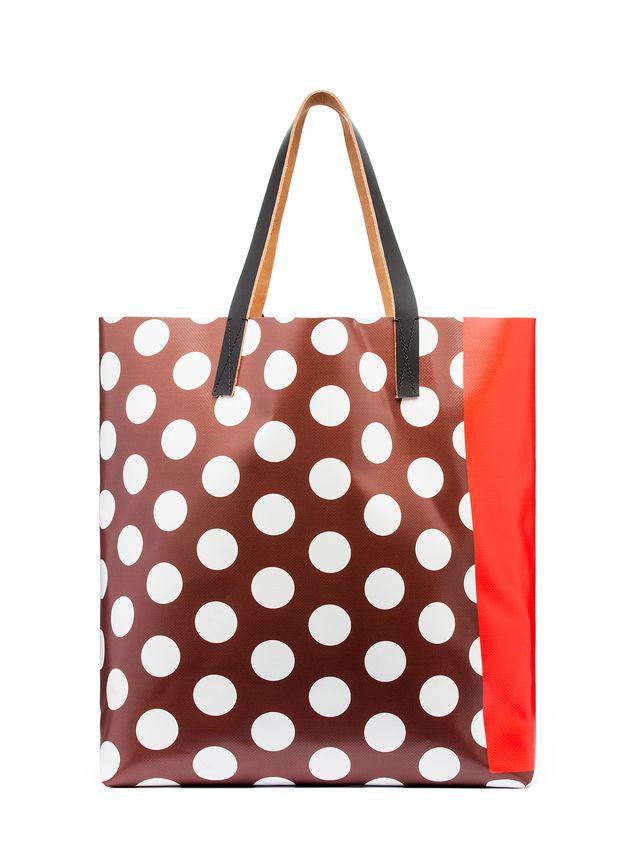 Marni SHOPPING bag in PVC with print by Ekta Woman - 3