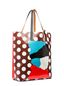 Marni SHOPPING bag in PVC with print by Ekta Woman - 2