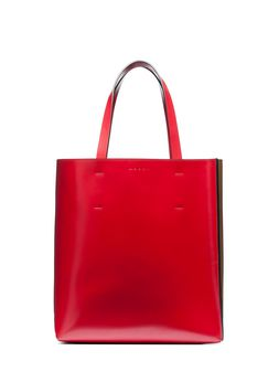 Marni MUSEO shopper in calfskin with pocket Woman
