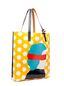 Marni SHOPPER in PVC Ekta print Woman - 2