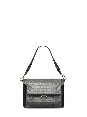 Marni TRUNK bag in croc print calfskin  Woman