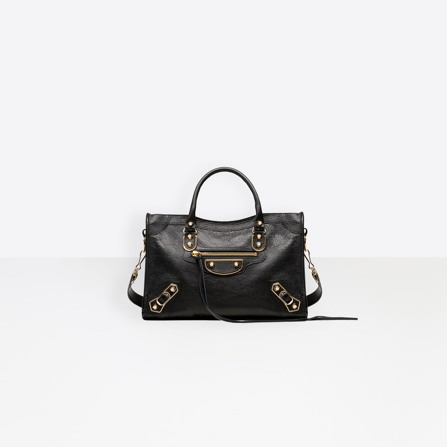 2b47702df BALENCIAGA Classic Metallic Edge City S Metallic Edge Handbag Woman f ...