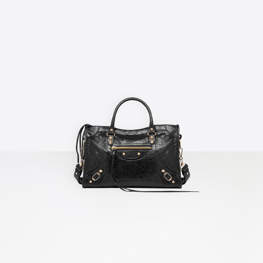 4f6510328b BALENCIAGA Classic Gold City S Classic New City Handbags Woman f ...