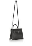 ALEXANDER WANG ATTICA CHAIN CROSSBODY IN BLACK WITH RHODIUM MESSENGER BAG Adult 8_n_d