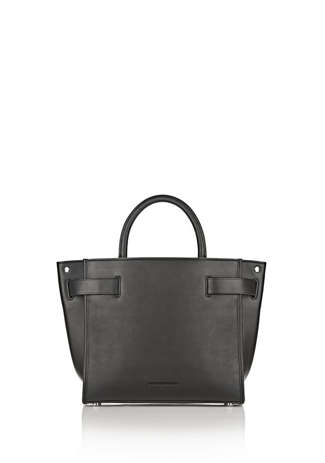 ALEXANDER WANG ATTICA CHAIN SATCHEL IN BLACK WITH RHODIUM Shoulder bag Adult 12_n_d
