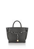 ALEXANDER WANG ATTICA CHAIN SATCHEL IN BLACK WITH RHODIUM Shoulder bag Adult 8_n_f