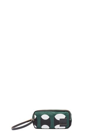 Marni PORTER clutch in printed nylon 2 compartments Man
