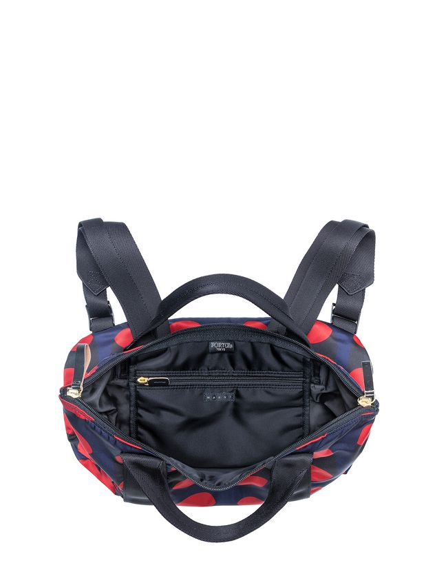 d953ad3840 PORTER Backpack Shopper In Printed Nylon from the Marni Spring ...