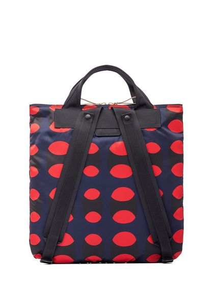 4034a46140 PORTER Backpack Shopper In Printed Nylon from the Marni Spring ...