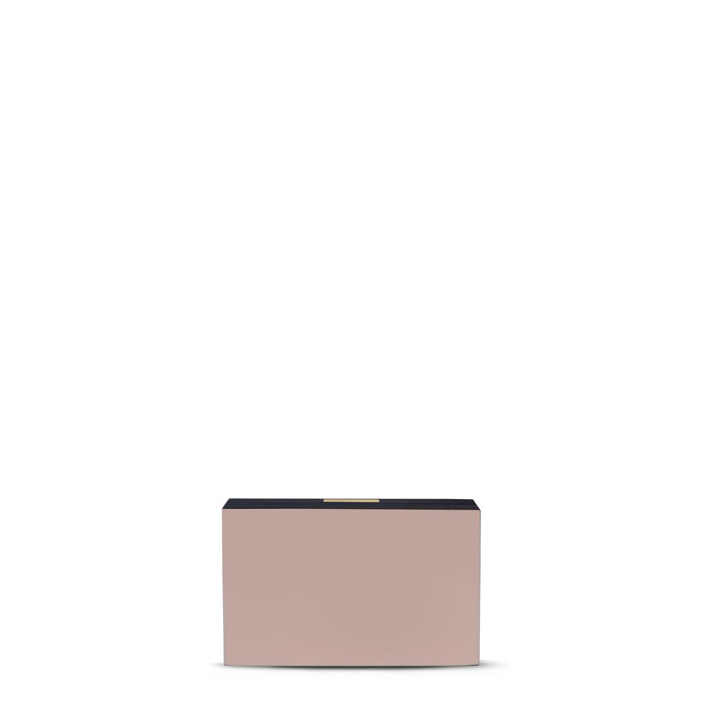 Pecan Resin Clutch Bag - STELLA MCCARTNEY