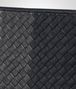 BOTTEGA VENETA DOCUMENT CASE IN NEW DARK NAVY ARDOISE NEW LIGHT GREY INTRECCIATO CLUB LAMB LEATHER Small bag U ep
