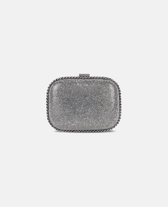 STELLA McCARTNEY Falabella Crystal Stones Clutch Bag Clutch Bag D c