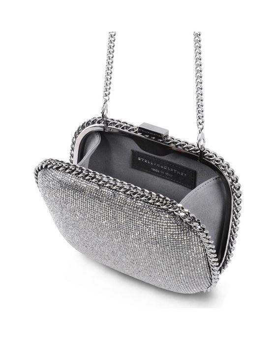 STELLA McCARTNEY Falabella Crystal Stones Clutch Bag Clutch Bag D g
