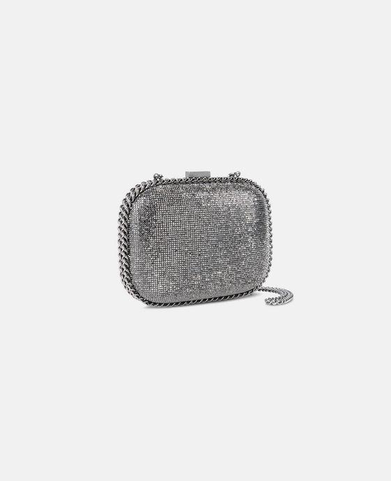 STELLA McCARTNEY Falabella Crystal Stones Clutch Bag Clutch Bag D h