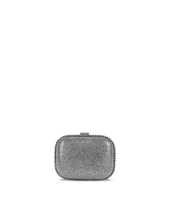 STELLA McCARTNEY Falabella Crystal Stones Clutch Bag Clutch Bag D i