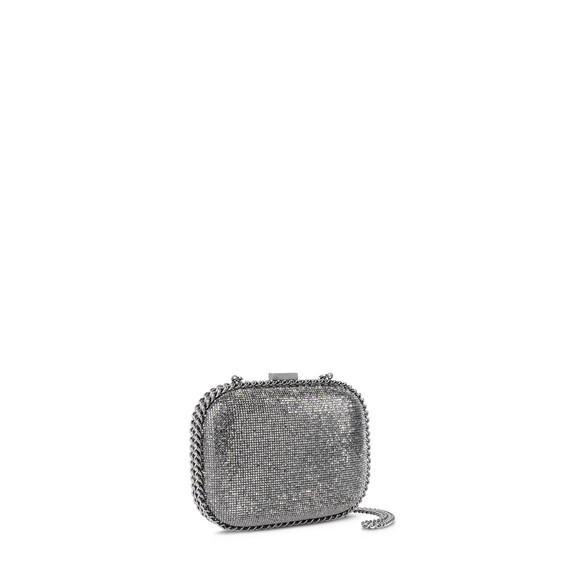 Falabella Crystal Stones Clutch Bag