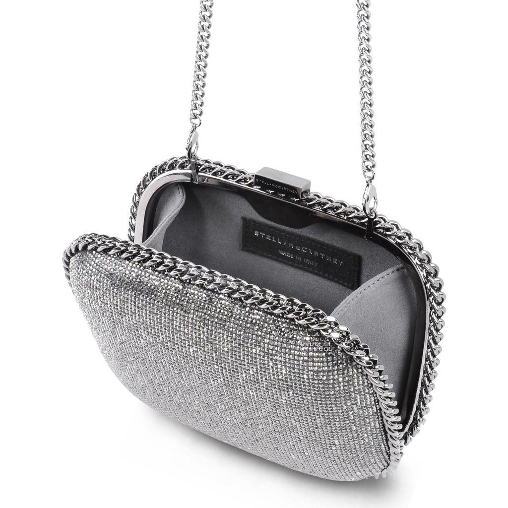 Falabella Crystal Stones Clutch Bag - STELLA MCCARTNEY