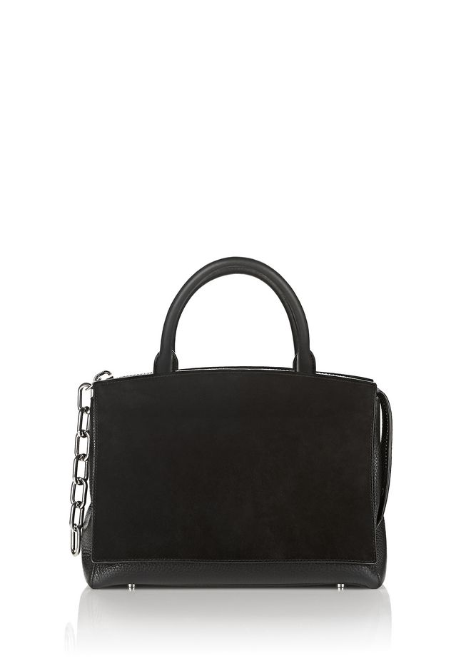 ALEXANDER WANG Shoulder bags Women ATTICA FLAP LARGE MARION IN PEBBLED BLACK