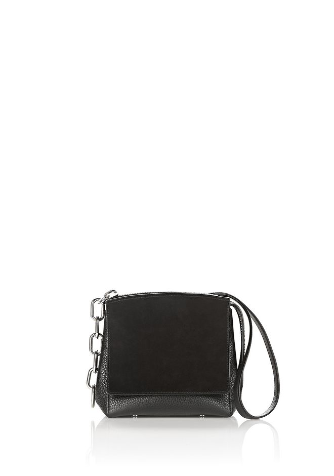 ALEXANDER WANG new-arrivals-bags-woman ATTICA FLAP MARION IN PEBBLED BLACK