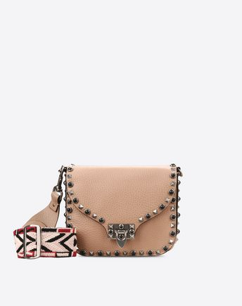 VALENTINO Guitar Rockstud Rolling cross body bag 45314796WC