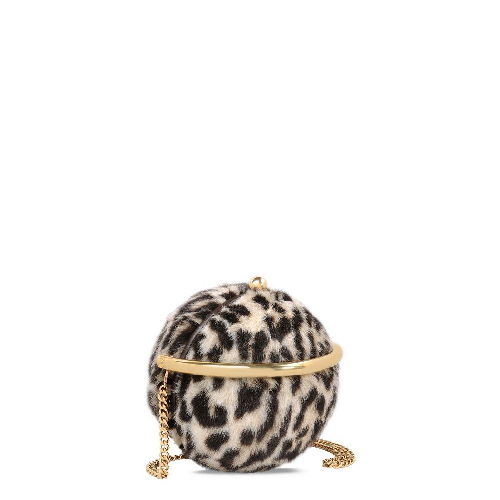 Alter Fur Leopard Shoulder Bag - STELLA MCCARTNEY