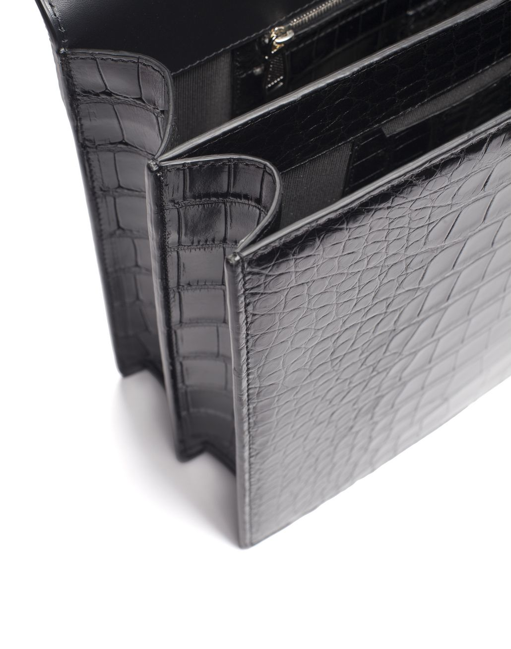 BRIONI Mallette classique en crocodile Serviette [*** pickupInStoreShippingNotGuaranteed_info ***] d