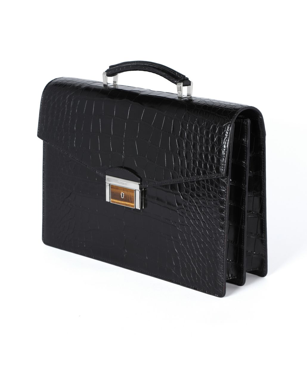 BRIONI Classic briefcase in crocodile Business bag [*** pickupInStoreShippingNotGuaranteed_info ***] e