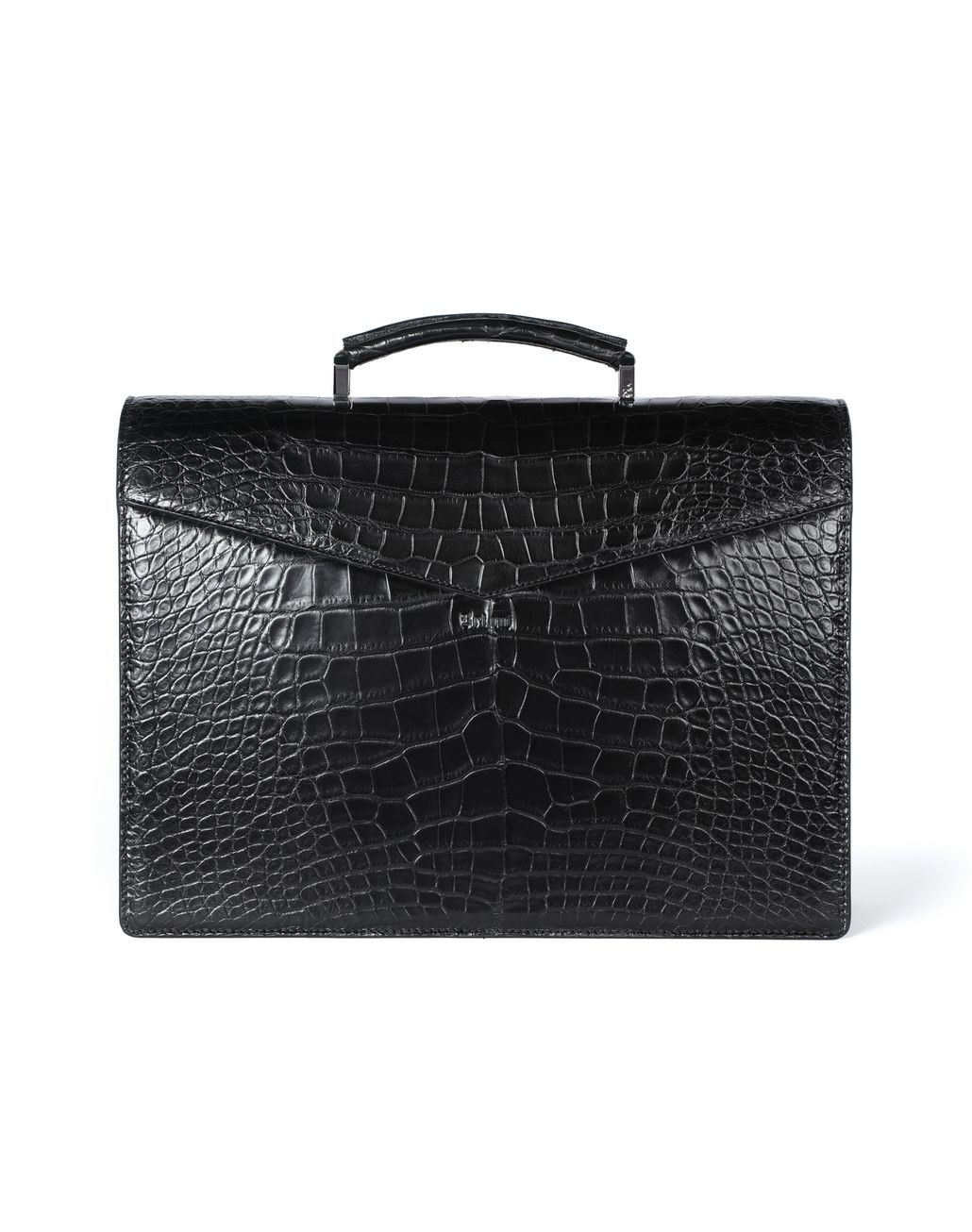 BRIONI Classic briefcase in crocodile Business bag Man r
