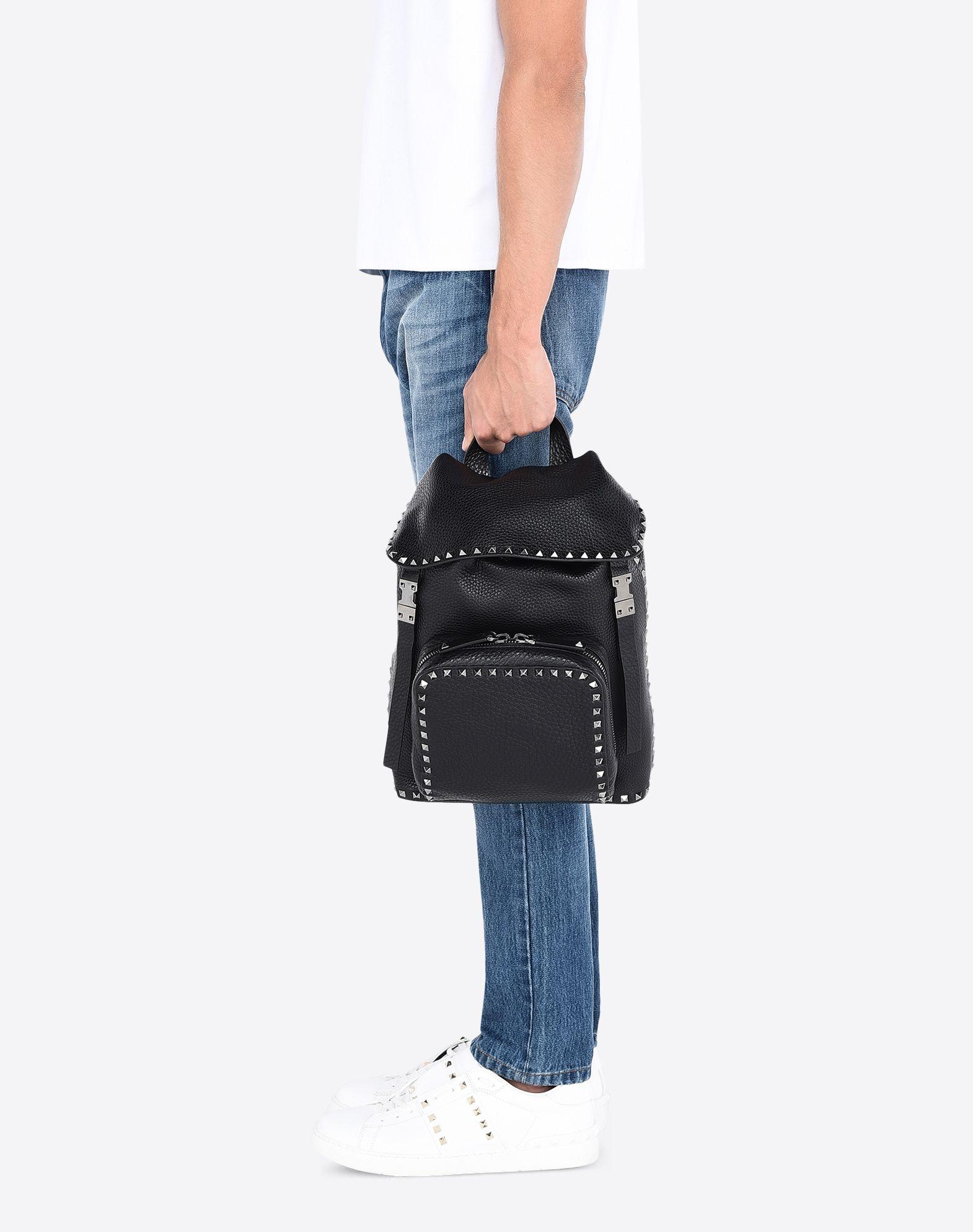 VALENTINO GARAVANI UOMO Rockstud Backpack Backpack U a