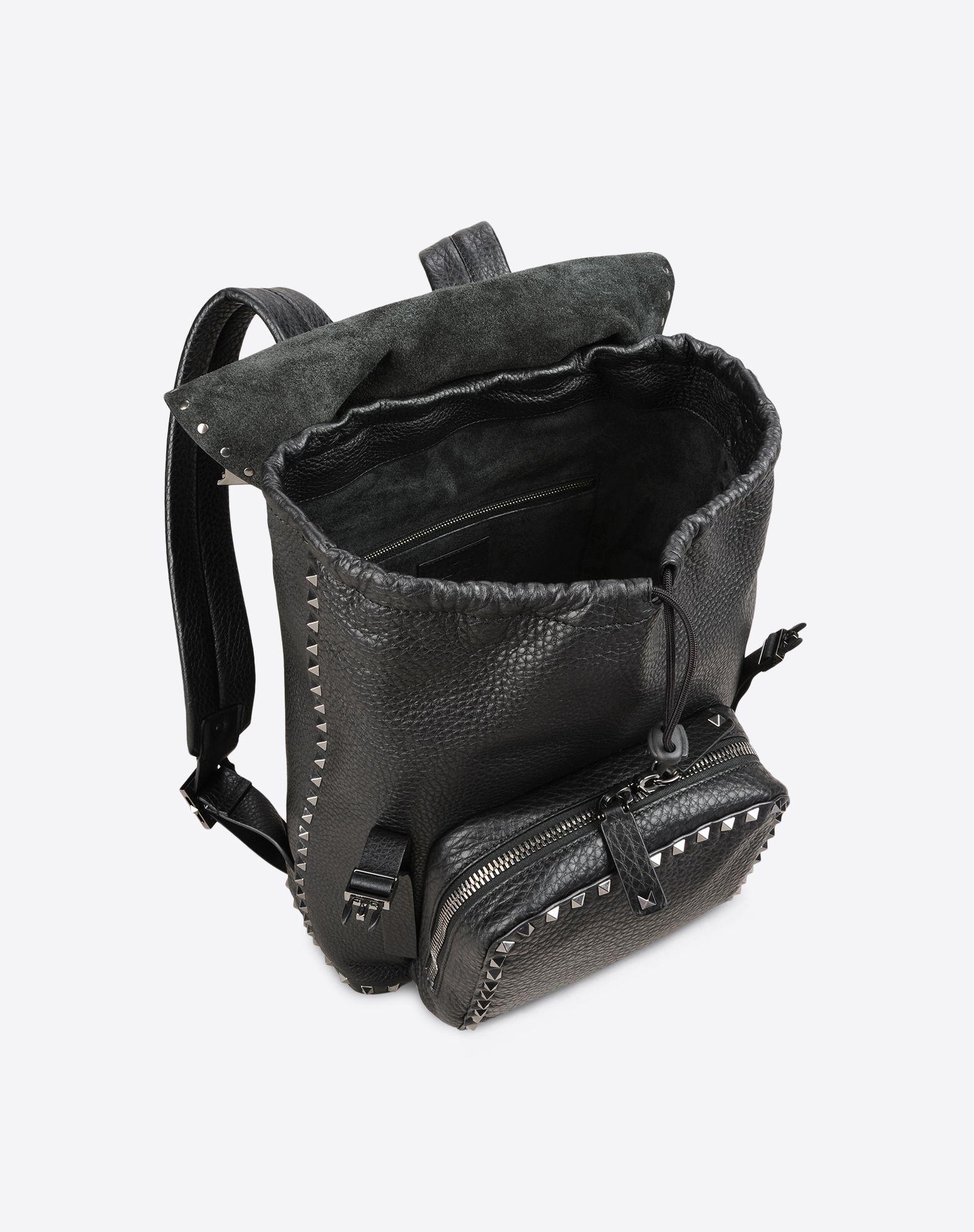 VALENTINO GARAVANI UOMO Rockstud Backpack Backpack U e