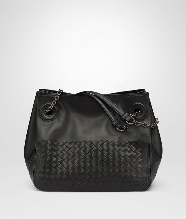 BOTTEGA VENETA NERO NAPPA TOTE Tote Bag Woman fp