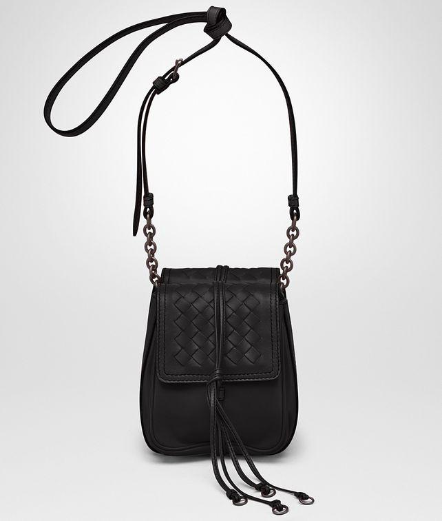 b070cac59dcb  Bottega Veneta® - SHOULDER BAG IN NERO NAPPA LEATHER ...