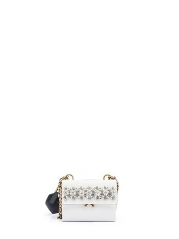 Marni Runway bandoleer wallet in calfskin Woman
