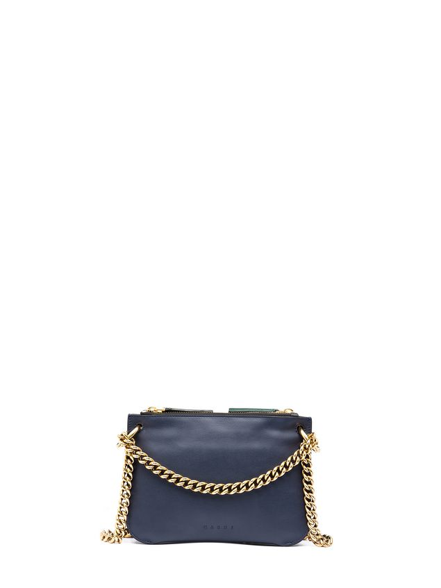 Marni POCKET bag in bi-coloured matt calfskin  Woman - 3