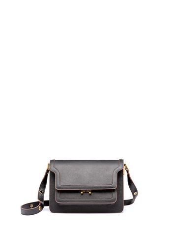 Marni TRUNK bag in Saffiano calfskin Woman