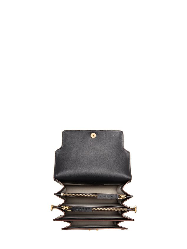 Marni TRUNK bag in Saffiano calfskin Woman - 4