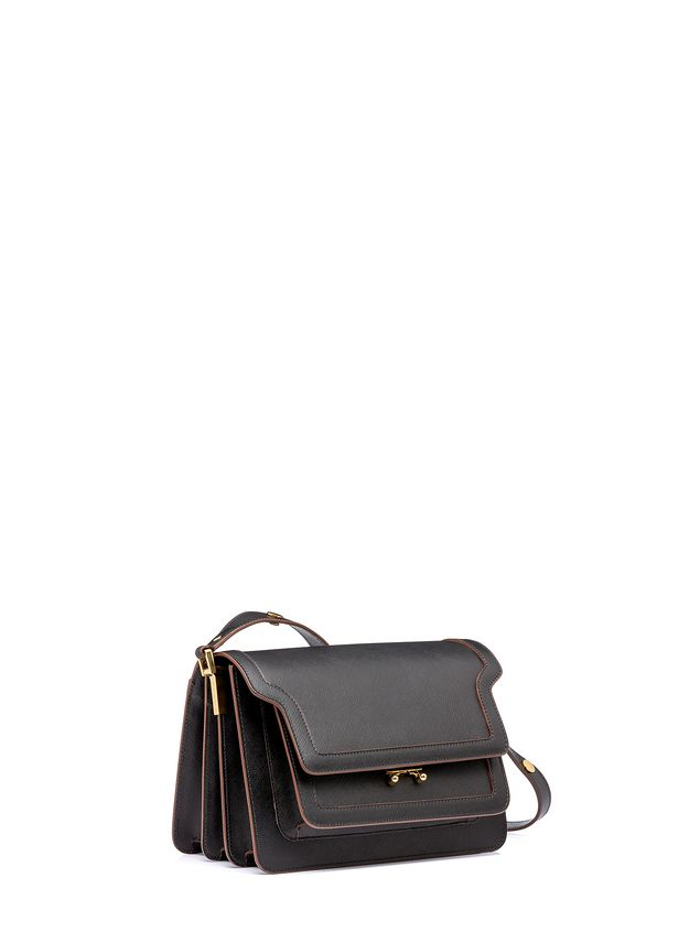 Marni TRUNK bag in Saffiano calfskin Woman - 2