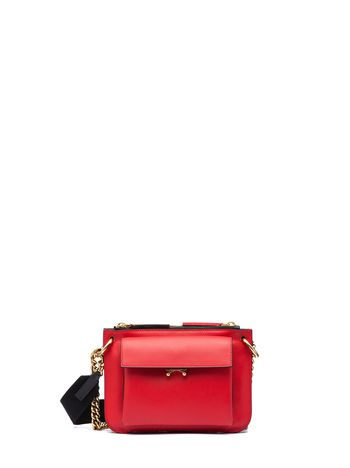 Marni POCKET bag in bi-coloured matt calfskin  Woman