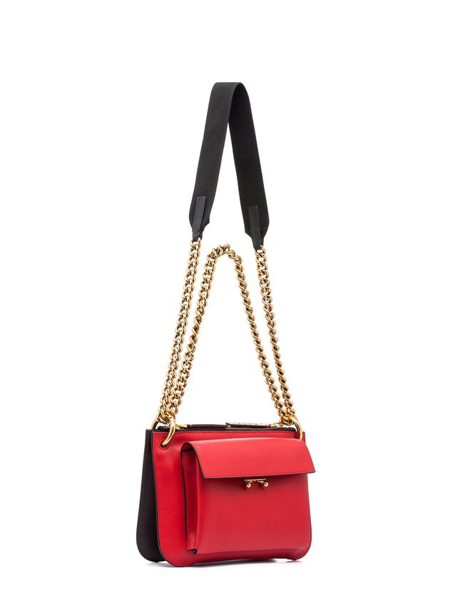 Marni POCKET bag in two-color matte calfskin  Woman - 2