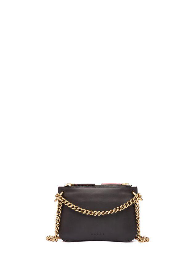 Marni POCKET bag in two-color matte calfskin  Woman - 3