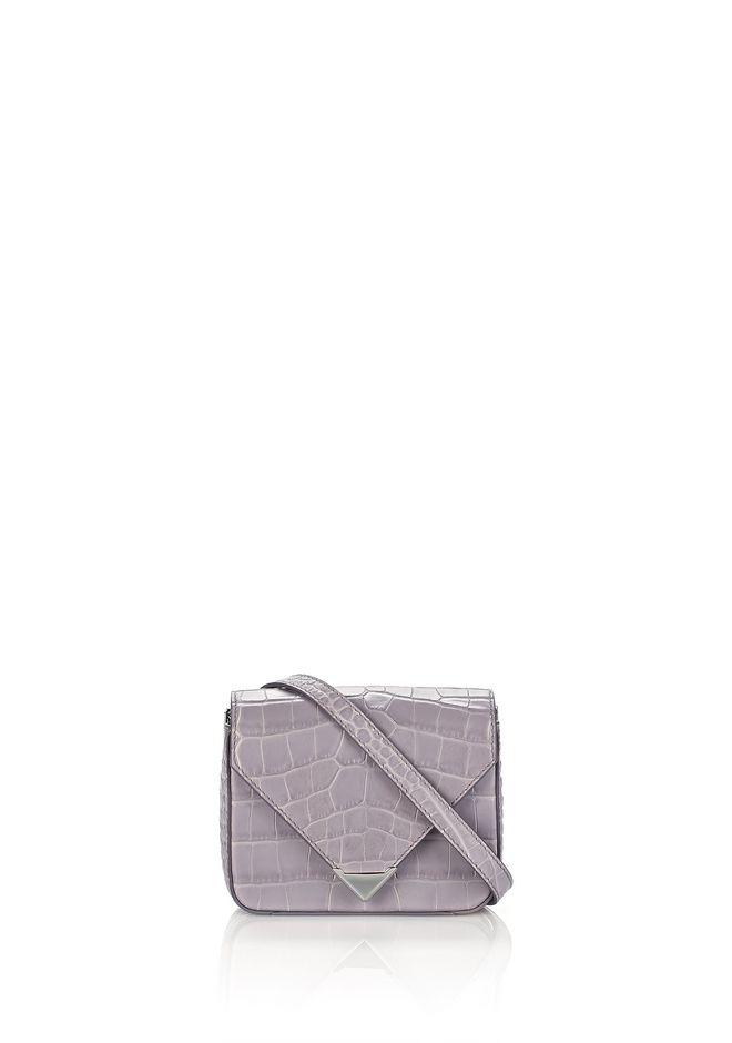 ALEXANDER WANG Shoulder bags Women MINI PRISMA ENVELOPE SLING IN CROC EMBOSSED LAVENDER WITH RHODIUM