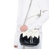 STELLA McCARTNEY Black Falabella Quilted Bucket Bag Falabella Shoulder bags D a