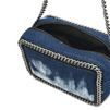 STELLA McCARTNEY Tie Dye Denim Falabella Cross Body Bag Falabella Cross Body D e