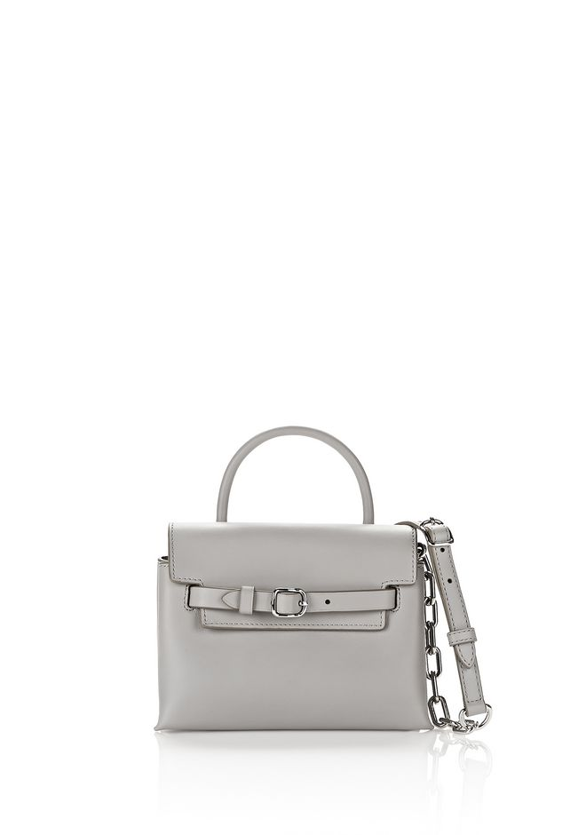 ALEXANDER WANG Shoulder bags Women EXCLUSIVE ATTICA MINI CROSSBODY IN HEATHER GRAY